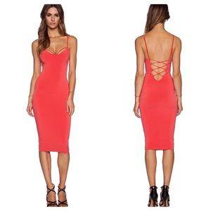 NWT Nookie Mi Amore Backless Shift Dress Size 6